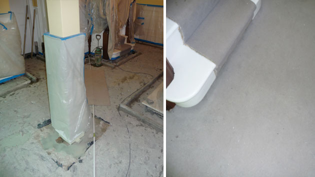 Services direct concrete remedials chipping sodbury for Concrete flooring service